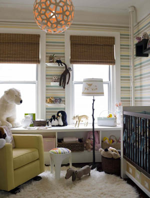 تزئین و طراحی اتاق کودک
